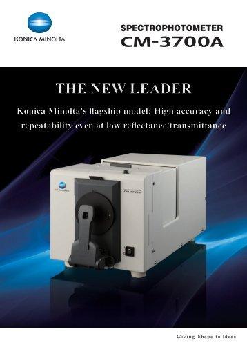 SPECTROPHOTOMETER CM-3700A - Konica Minolta