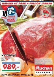 Sertéstarja - Auchan