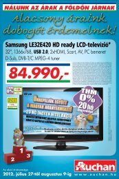 Samsung LE32E420 HD ready LCD-televízió* - Auchan