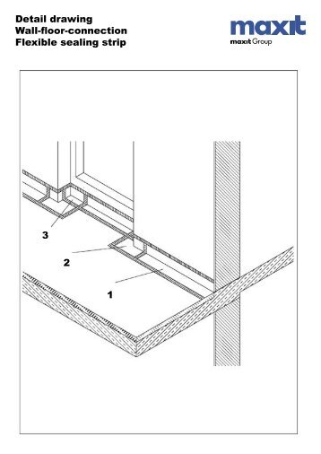 Detail Drawing Balcony And Terraces Wall Floor Connection
