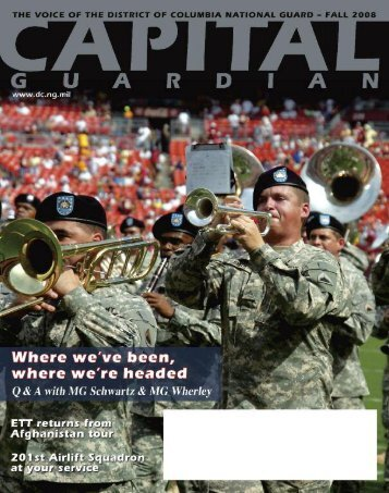 CAPITAL GUARDIAN / Fall 2008 - STATES - The National Guard