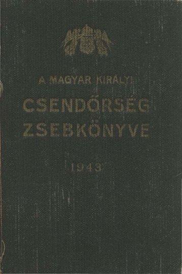 Untitled - Magyar Királyi Csendőrség