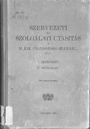 1 Boritók, Tartalom, Szervezet 1-30p.pdf - Magyar Királyi Csendőrség