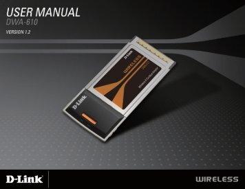 Product Manual - D-Linkla