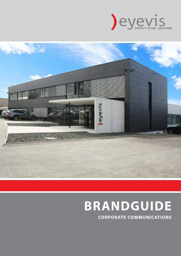 BRANDGUIDE - Eyevis GmbH