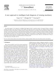 A new approach to intelligent fault diagnosis of rotating machinery