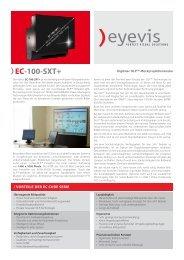 EC-100-SXT+ - Eyevis GmbH