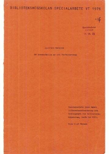 1976 nr 40.pdf - BADA - Högskolan i Borås