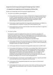 Besluit GII Stuurgroep en FOBID bestuur - OCLC