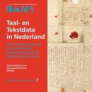 PDF (Taal- en Tekstdata in Nederland. Een ... - KNAW Repository