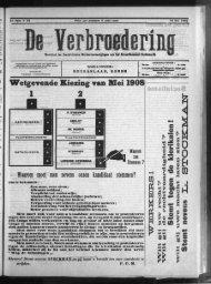 Wetgevende Kiezing van Mei 1908 1 2 Waarom moet men nevens ...