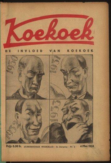 D E I N V L O E D V A N K O E K O E K 4 Mei 1933