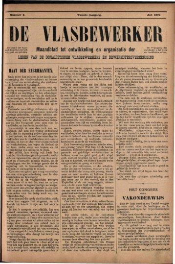 #&£££ Maandblad tot ontwikkeling en organisatie der ^ ' i f ^ s