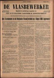 let ïi-unpeft in ne Belgische Viasnijverneïfi on 1 Oogst 1901 i