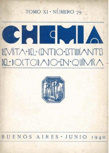 Biblioteca Digital   FCEN-UBA   Chemia Nº 79 Revista del Centro de ...