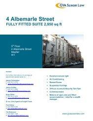 4 Albemarle Street - GVA