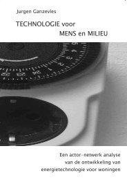 TECHNOLOGIE voor MENS en MILIEU - Universiteit Twente