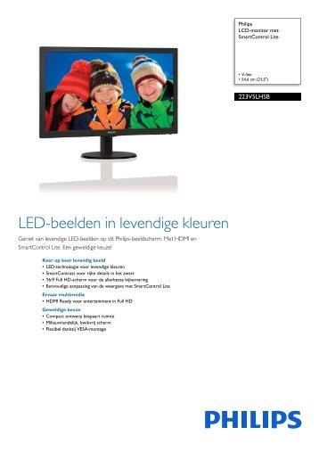 Philips 236V4LSB/00 LCD Monitor Drivers (2019)