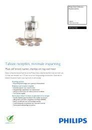 HR7627/00 Philips Keukenmachine