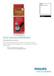 HD5043/01 Philips Koperen portafilter
