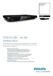 DVP3850/12 Philips DVD-speler