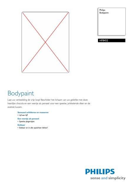 HF8452/00 Philips Bodypaint