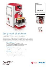 HD7860/20 SENSEO® Koffiepadmachine - Philips