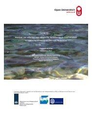 Analyse van effecten van abiotische factoren op de biodiversiteit in ...
