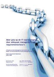 Scriptie BP&ICT 1.0 - DSpace at Open Universiteit - Open ...