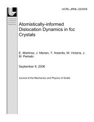 Atomistically-informed Dislocation Dynamics in fcc Crystals