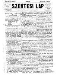 Szentesi Lap 9. évf. 30. sz. (1879. július 27.) - EPA