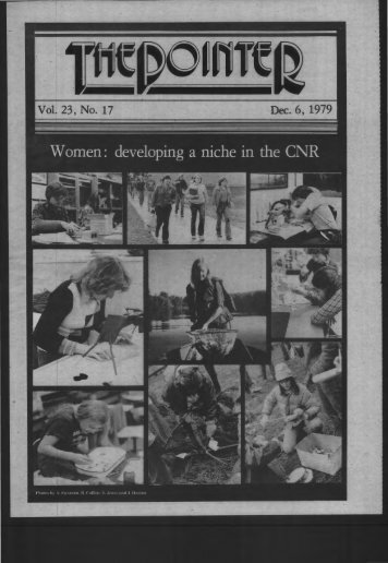 Vol. 23, No. 17 ·Dec. 6, 1979 - University of Wisconsin - Stevens Point