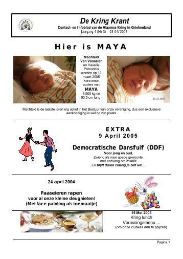 De Kring Krant Hier is MAYA - EveryOneWeb