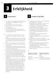 Havo 4 - Erfelijkheid - itslearning
