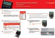 Kurzanleitung für das chipTAN - Sparkasse Bremen