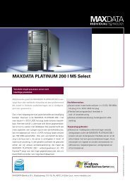 MAXDATA PLATINUM 200 I M5 Select