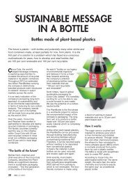 SUSTAINABLE MESSAGE IN A BOTTLE - Fzarchiv.de