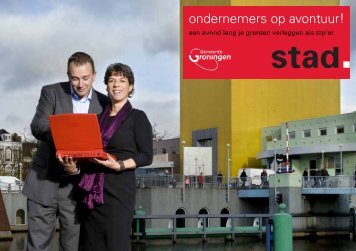 Uitnodiging 19 mei ondernemers op avontuur! - Gemeente Groningen