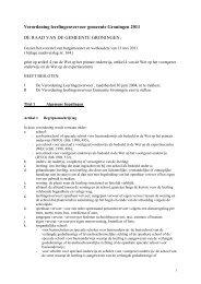 Verordening leerlingenvervoer gemeente Groningen 2011 DE ...