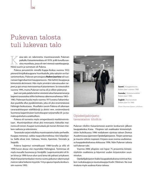 Kaisa-talo - Helda - Helsinki.fi