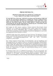 Press Release -APEPTICO- 2009-06-09