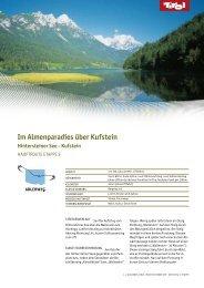 Im Almenparadies über Kufstein (273.8 KB) - Tiscover