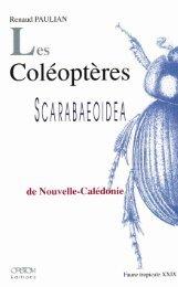 Les Coléoptères Scarabaeoidea de Nouvelle-Calédonie - IRD