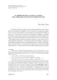 19. El problema de las Aquae calidae del norte del conventus ...