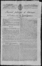 22 Juin 1826 - Bibliothèque de Toulouse