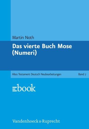 Das vierte Buch Mose (Numeri)