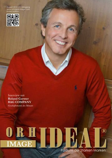 Orhideal IMAGE Magazin - August 2013
