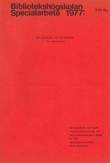 1977 nr 298.pdf - BADA - Högskolan i Borås
