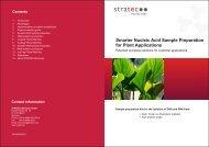Plant DNA/RNA Isolation (PDF) - Invitek GmbH