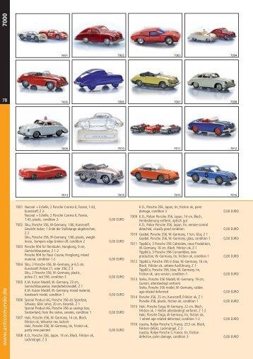 Katalog 7000er 1 Teil - Antico Mondo